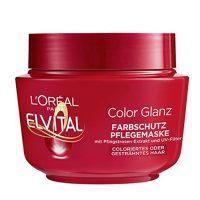 ماسک مو مدل COLOR GLANZ مناسب موی رنگ شده لورآل - LOREAL با حجم 300میلی