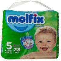 پوشک سایز 5 مولفیکس - molfix مناسب 11 تا 25 کیلو
