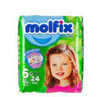 پوشک سایز 6 مولفیکس - molfix مناسب برای 15+ کیلو