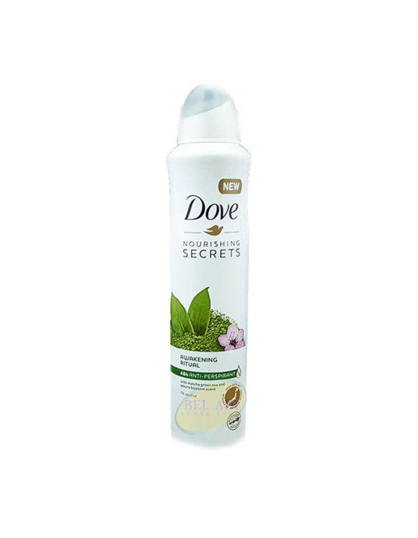 اسپری بدن زنانه SECRETS داو 250میلی (Dove)