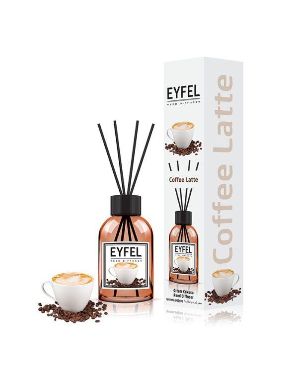 خوشبو کننده بامبو رایحه Coffee latte ایفل 110میلی (EYFEL)